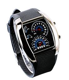 Stylish Turbo Dial Flash LED Unisex Watches LatestOne.com